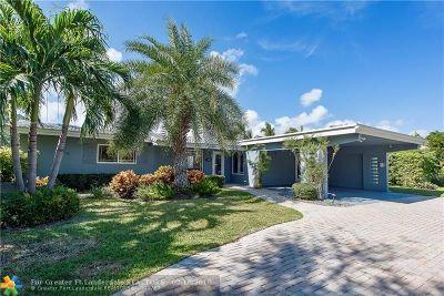 Oakland Park Single Family Home For Sale: 3811 NE 16th Ter