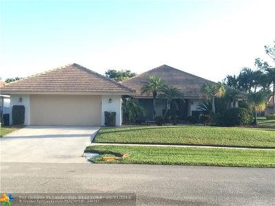 Boca Raton Single Family Home For Sale: 5915 Pinebrook Dr