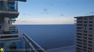 Fort Lauderdale Condo/Townhouse For Sale: 3900 Galt Ocean Dr #1804