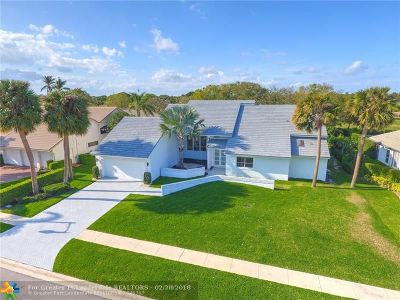 Boca Raton Single Family Home For Sale: 4116 Bocaire Boulevard