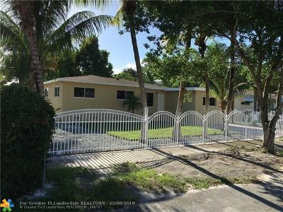 Miami Single Family Home Backup Contract-Call LA: 14430 NW 13th Ave