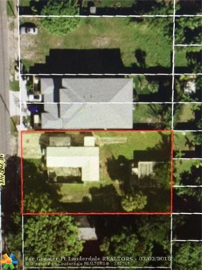 Fort Lauderdale Residential Lots & Land For Sale: 1128 NE 2 Avenue