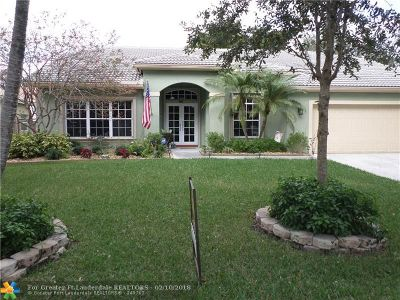 Coconut Creek Single Family Home For Sale: 3931 NW 54th Ct