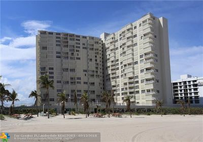 Pompano Beach Condo/Townhouse For Sale: 750 N Ocean Blvd #1007