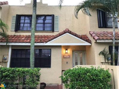 Sunrise Condo/Townhouse For Sale