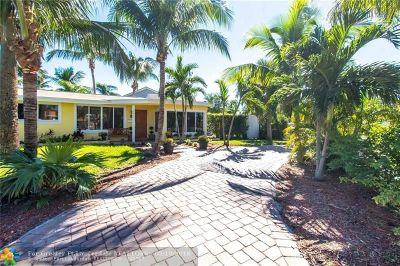 Pompano Beach Single Family Home For Sale: 400 SE 5th Ct