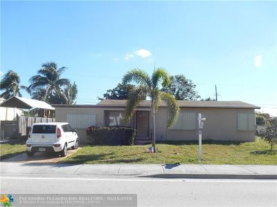 Oakland Park Single Family Home Backup Contract-Call LA: 5224 N Andrews Ave