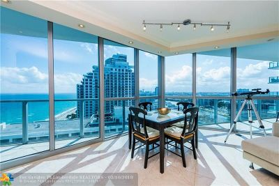 Hollywood Condo/Townhouse For Sale: 3101 S Ocean Dr #2106