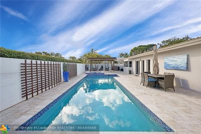 Fort Lauderdale Single Family Home For Sale: 12 Fort Royal Is