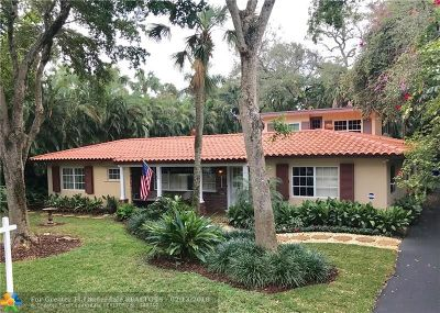 Fort Lauderdale Single Family Home For Sale: 1525 SW 15th Ave