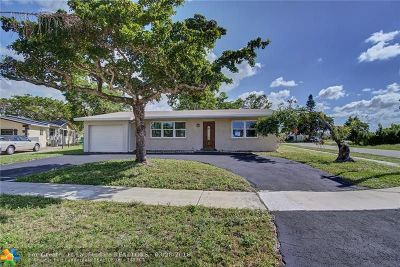 Sunrise Single Family Home For Sale: 2630 NW 98th Ave