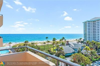 Lauderdale By The Sea Condo/Townhouse For Sale: 2000 S Ocean Blvd #7L