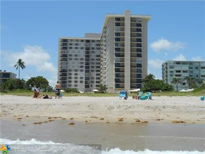 Lauderdale By The Sea Condo/Townhouse For Sale: 1900 S Ocean Blvd #15F