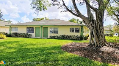 Coral Springs Condo/Townhouse Backup Contract-Call LA: 4107 NW 88th Ave #4