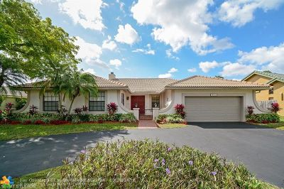 Coral Springs Single Family Home For Sale: 10160 NW 19th St