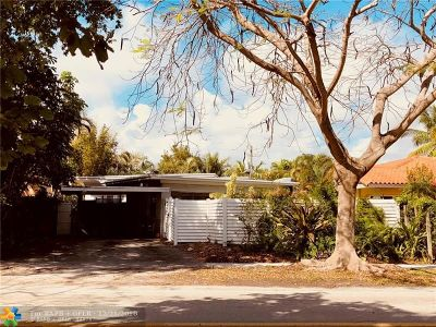 Fort Lauderdale Single Family Home For Sale: 605 N Victoria Park Rd