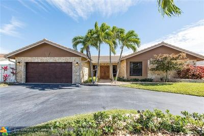 Coral Springs Single Family Home For Sale: 657 NW 101st Ter
