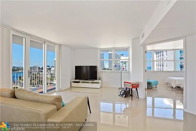 Fort Lauderdale Condo/Townhouse For Sale: 209 N Fort Lauderdale Beach Blvd #10A