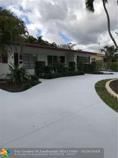Fort Lauderdale Multi Family Home For Sale: 916 Orange Isle