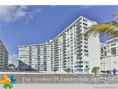 Miami Beach Condo/Townhouse For Sale: 5333 Collins Ave #805