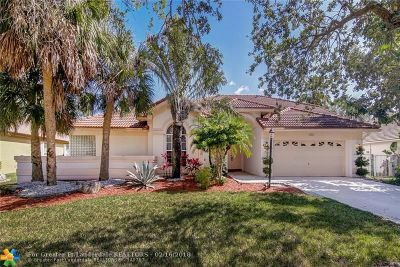 Coral Springs Single Family Home For Sale: 4233 NW 81st Ter