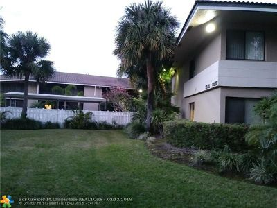 Coral Springs Condo/Townhouse For Sale: 9565 NW 2nd Pl #1-H