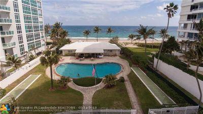 Pompano Beach Single Family Home For Sale: 1431 S Ocean Blvd 80