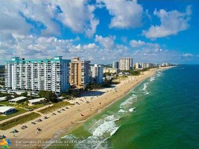 Pompano Beach Condo/Townhouse For Sale: 1010 S Ocean Blvd #415
