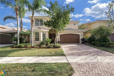 Boynton Beach Single Family Home For Sale: 11203 Millpond Greens Dr