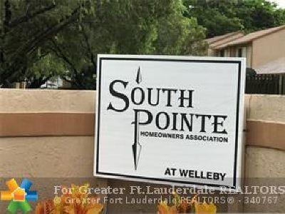 Sunrise Single Family Home Backup Contract-Call LA: 11181 NW 37th St