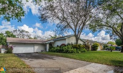 Cooper City Single Family Home Backup Contract-Call LA: 12203 Paseo Way
