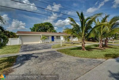 Plantation Single Family Home For Sale: 7481 NW 11th Pl