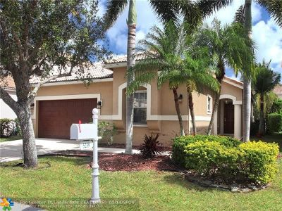 Coral Springs Single Family Home Backup Contract-Call LA: 5239 NW 112th Way