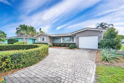 Fort Lauderdale Single Family Home For Sale: 1208 Orange Isle