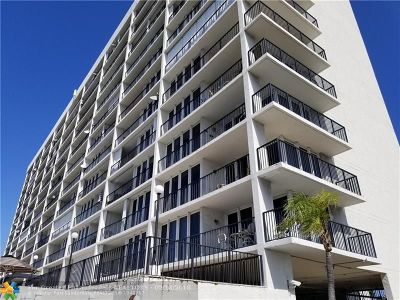 Pompano Beach Condo/Townhouse For Sale: 521 N Riverside Dr #307