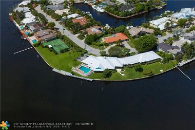 Fort Lauderdale FL Single Family Home For Sale: $14,995,000