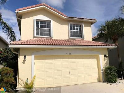 Boynton Beach Single Family Home For Sale: 4685 Purdue Dr