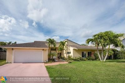 Plantation Single Family Home For Sale: 641 SW 101st Ave