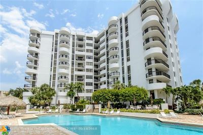 Pompano Beach Condo/Townhouse For Sale: 1361 S Ocean Blvd #407