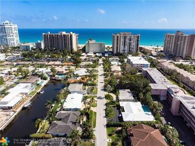 Lauderdale By The Sea Single Family Home For Sale: 2020 Coral Reef Dr
