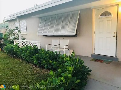 Deerfield Beach Single Family Home For Sale: 1401 SW 1st Ave