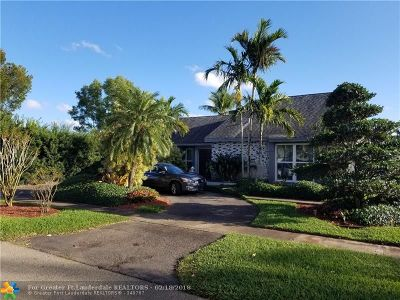Pembroke Pines Single Family Home Backup Contract-Call LA: 8430 NW 5th St