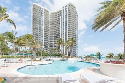 Condo/Townhouse For Sale: 3200 N Ocean Blvd #308