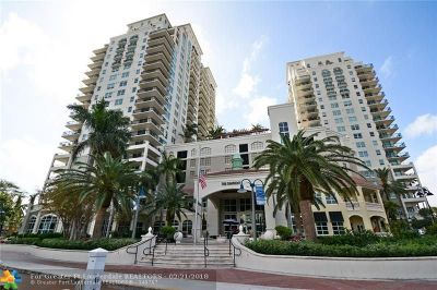 Fort Lauderdale Condo/Townhouse For Sale: 600 W Las Olas Blvd #607S