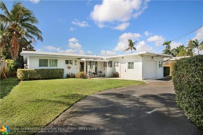 Fort Lauderdale Single Family Home For Sale: 2543 Flamingo Ln