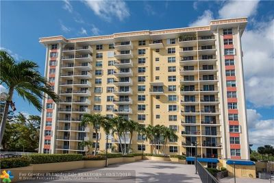 Fort Lauderdale Condo/Townhouse For Sale: 1800 N Andrews Ave #7I