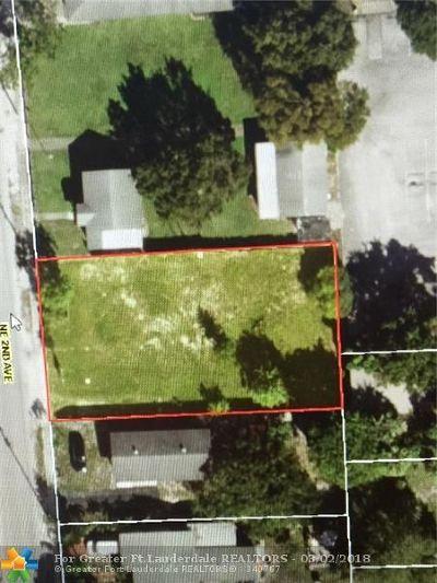 Fort Lauderdale Residential Lots & Land For Sale: 1022 NE 2 Av