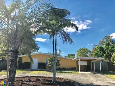 Fort Lauderdale Single Family Home For Sale: 1325 SW 28th Rd