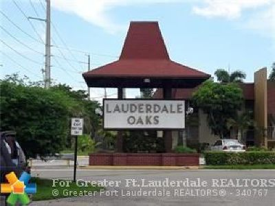 Lauderdale Lakes Condo/Townhouse For Sale: 3091 NW 46th Av #306c