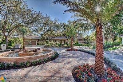 Coral Springs Single Family Home For Sale: 1712 Vestal Dr